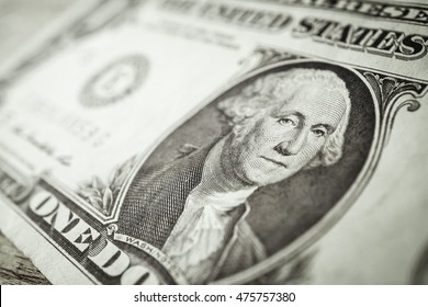 dollar banknotes for finance and banking concept background