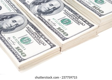 dollar banks note money isolated