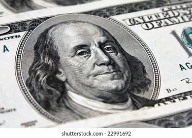 Dollar close-up shoot