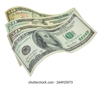 Dollar collection of various denominations