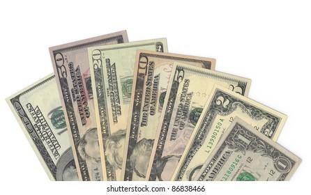 Dollar Money Banknotes