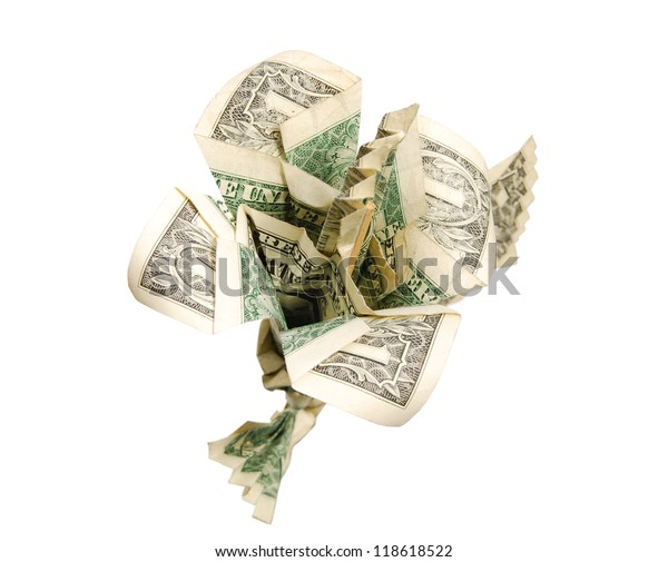 Money flower origami lotus money lotus dollar bill | Etsy | 505x600
