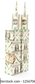 Dollar origami towers