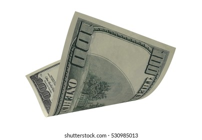Dollar, Paper Money, American Currency, Curved Dollar, Flying Money, Render