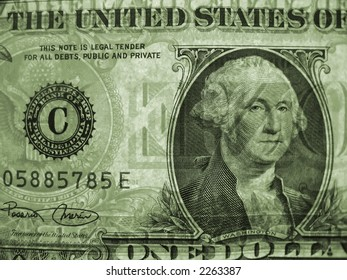 dollar US currency money note