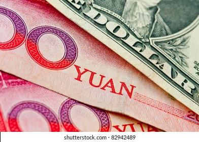 Dollar USA vs RMB Chinese Crisis Economic of the world