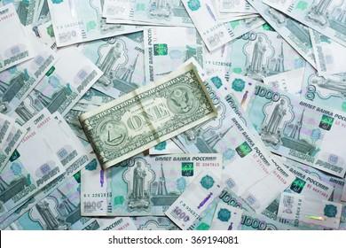 dollar vs ruble