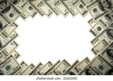 Dollars, frame.