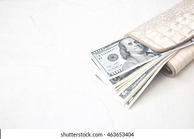 Dollars wallet