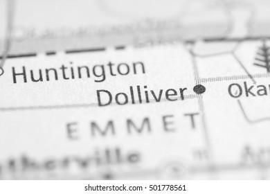 Dolliver. Iowa. USA.