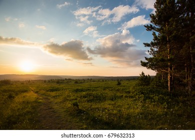 Dolly Sods Wilderness Area Sunset