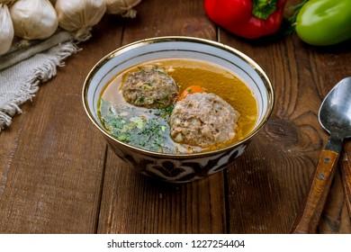 dolma shurpa Uzbek cuisine