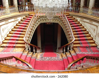 Dolmabahce Palace, Crystal Staircase