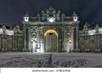 Dolmabahce Palace, Istanbul, January 8, 2017; Dolmabahce Palace Istanbul, Turkey.
