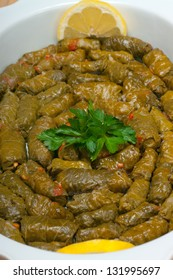 Dolmades Mediterranean  food