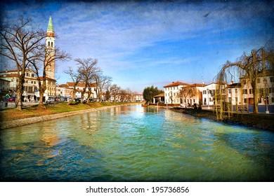 Dolo, Venice, Italy: Along Brenta River