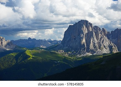 dolomite rocky mountain in italy