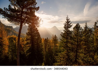 Dolomite sunrise