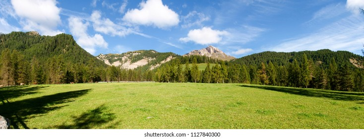 "Dolomites, Italy: Nature and landscape of ""Alta Badia"" near ""San Cassiano"""