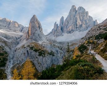Dolomites mountains South Tyrol