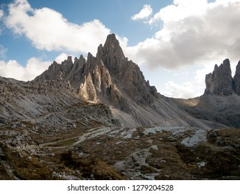 Dolomites mountains in South Tyrol