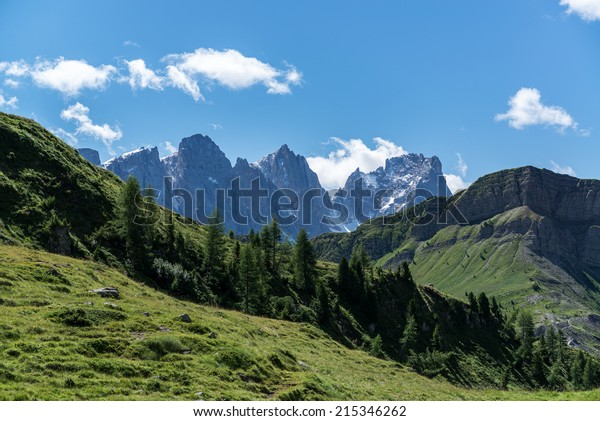 Dolomites Pale Di San Martino Landscape Stock Photo Edit Now