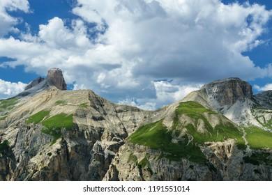 Dolomiti lansdcape from Lavaredo