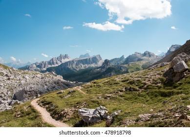 Dolomiti Unesco, wonder of nature - Views from Tofane