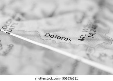 Dolores River, Colorado, USA.