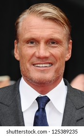 Dolph Lundgren arriving for the UK Premiere of The Expendables 2 at the Empire Cinema in, Leicester Square, London. 13/08/2012 Picture by: Steve Vas
