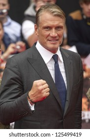Dolph Lundgren arriving for the UK Premiere of The Expendables 2 at the Empire Cinema in, Leicester Square, London. 13/08/2012 Picture by: Simon Burchell