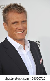 """Dolph Lundgren at the world premiere of his new movie """"The Expendables"""" at Grauman's Chinese Theatre, Hollywood. August 3, 2010  Los Angeles, CA Picture: Paul Smith / Featureflash"""