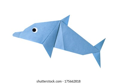 Step by step instructions how to make origami A Dolphin. - Buy ... | 280x391