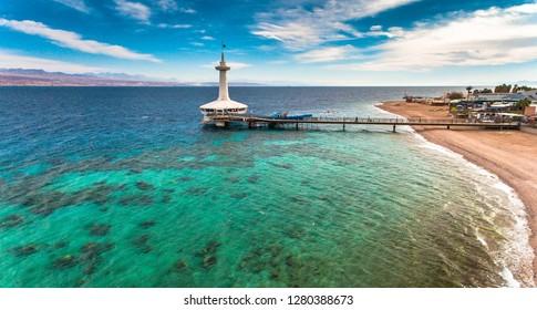 dolphin reef eilat israel