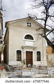 D.O.M  Nicolao Episcopo in Rovinj. Istria. Croatia.