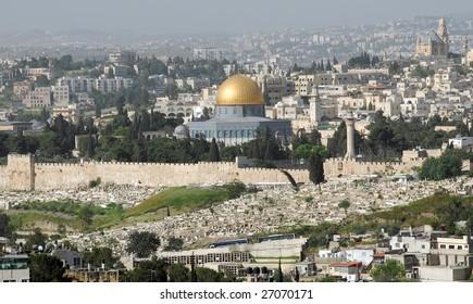 The Dom of the Rock, Jerusalem
