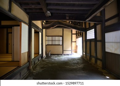 Doma in a private house from the Edo period