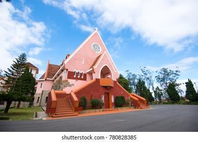 Domaine de Marie Church in Da Lat city, Lam  Dong province, Vietnam
