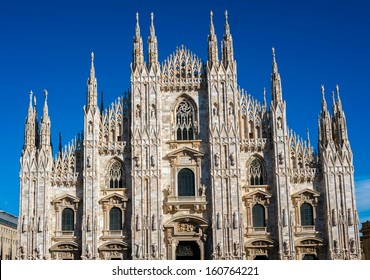 Dome cathedral in Milan, Italy