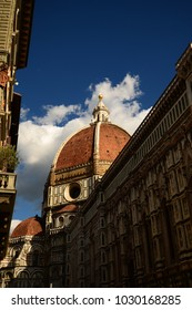 The Dome of Cathedral of Santa Maria del Fiore in Florence, italy.