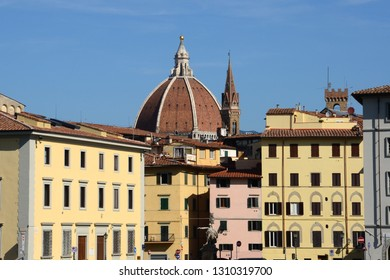 The Dome of Cathedral of Santa Maria del Fiore in Florence. Italy