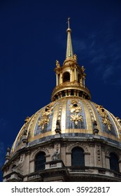 Dome church Les Invalides detail
