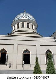 Dome of Juma Mosque in Tashkent, Uzbekistan,