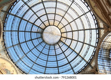 dome in the middle of a shopping mall