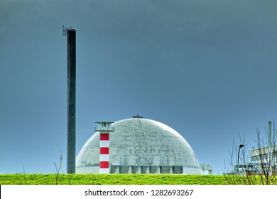 dome of an nuclear power plant in germany