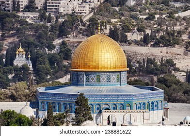 Dome of the Rock in Jerusalem old city