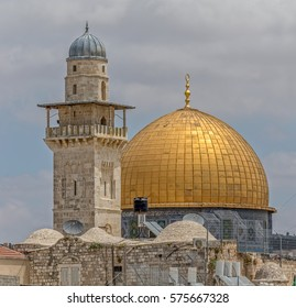 Dome of the Rock also known as the Mosque of Omar in Old City Jerusalem, Israel.