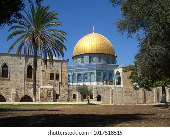Dome of the Rock in the old city of Jerusalem