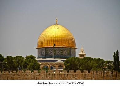 Dome of The Rock -  Old City of Jerusalem