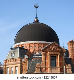 Kuppel des Royal Observatory, Greenwich Park, London England